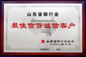 山东省银行最佳信贷诚信客户.jpg